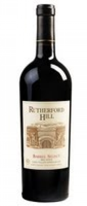 Rutherford Hill Winery Barrel Select Bottle