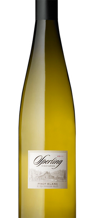 Sperling Vineyards 2011 Pinot Blanc Bottle