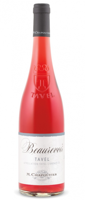 M. Chapoutier Beaurevoir 2015 Tavel Bottle