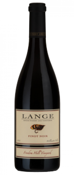 Lange Estate Winery and Vineyards Freedom Hill Vineyard 2011 Pinot Noir Bottle