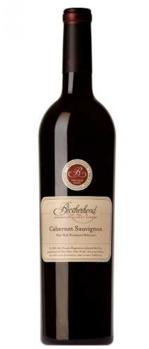 Brotherhood Winery Cabernet Sauvignon Bottle