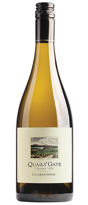 Quails' Gate Winery 2012 Chardonnay Bottle