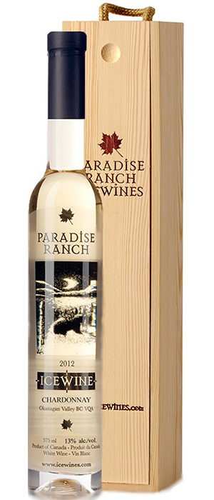 Paradise Ranch Icewine Bottle