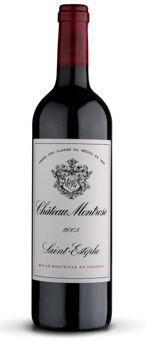 Chateau Montrose 2005 Cabernet Sauvignon blend Bottle