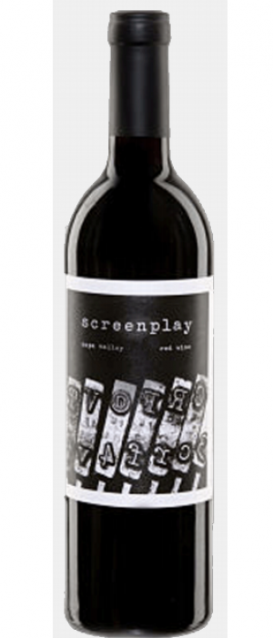Screenplay 2009 Red Wine Bottle
