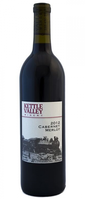 Kettle Valley Winery 2012 Cabernet Merlot Bottle