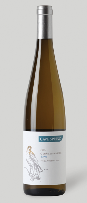 Cave Spring Cellars 2015 Gewürztraminer Bottle