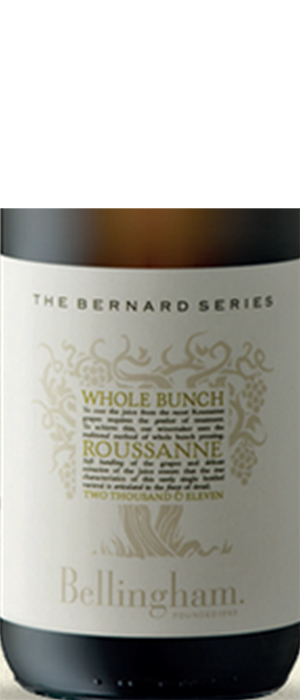 Bellingham Wines Bernard Series 2013 Whole Bunch | White Wine