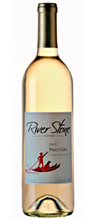 River Stone Estate Winery 2012 Pinot Gris (Grigio) Bottle