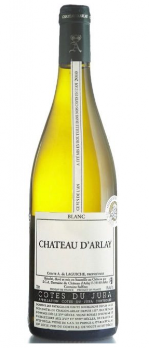 Chateau D'Arlay Cotes Du Jura Blanc Tradition 2010 | White Wine
