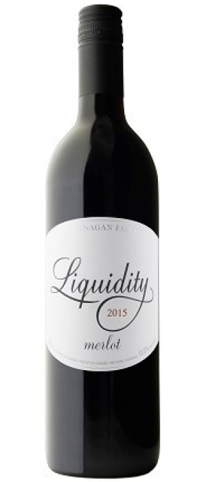 Liquidity 2015 Merlot Bottle
