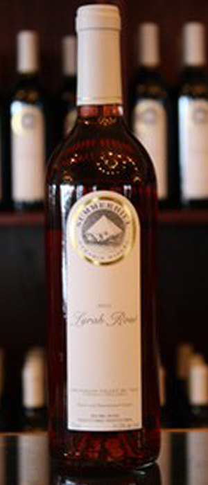 Summerhill Pyramid Winery 2012 Syrah (Shiraz) Bottle