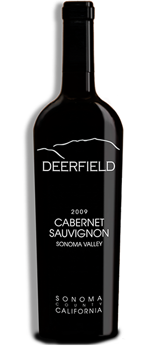 Deerfield Ranch Winery 2009 Cabernet Sauvignon Bottle