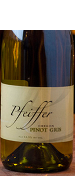 Pfeiffer Vineyards 2012 Pinot Gris (Grigio) Bottle