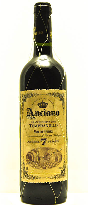 Anciano 2007 Grand Reserva 7 Year Bottle