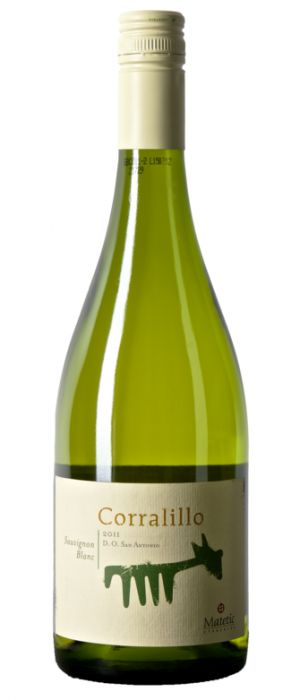 Matetic Vineyards Corralillo 2011 Sauvignon Blanc Bottle