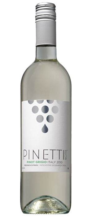 Pinetti Notte 2010 Pinot Gris (Grigio) Bottle