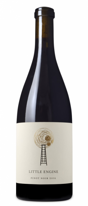 Little Engine Wines 2016 Gold Pinot Noir Bottle