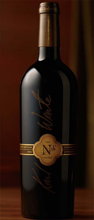 The Nth Degree Cabernet Sauvigon Bottle