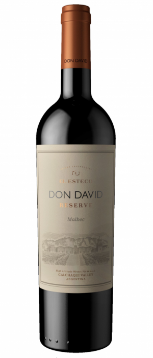 El Esteco Don David Reserve 2016 Malbec Bottle