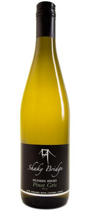 Shaky Bridge Wines Pioneer Series 2013 Pinot Gris Bottle