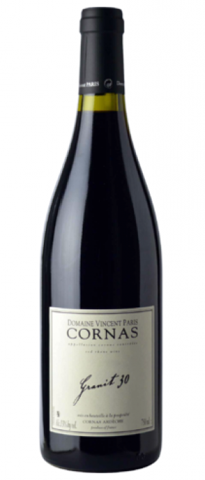 Domaine Vincent Paris Cornas Granit 30 2015 Bottle