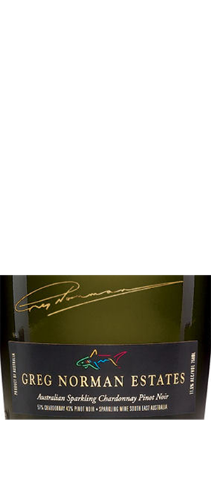 Greg Norman Estates 2009 Sparkling Wine Bottle