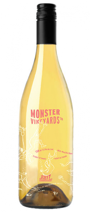 Monster Vineyards 2017 Skinny Dip Chardonnay Bottle