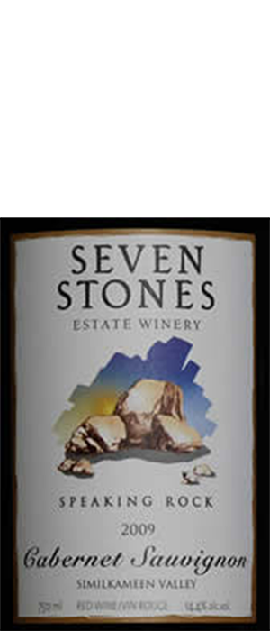 Seven Stones Winery 2012 Cabernet Sauvignon Bottle