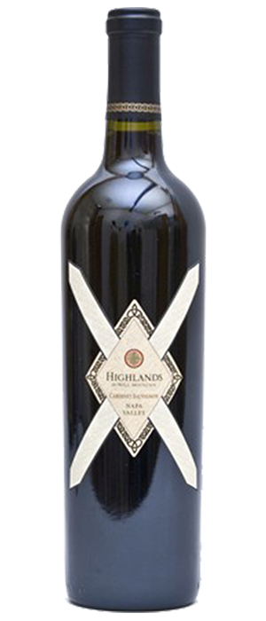 Highlands Cabernet Sauvignon Napa Valley Bottle