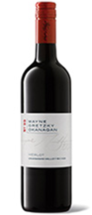 Wayne Gretzky Estates 2011 Merlot Bottle