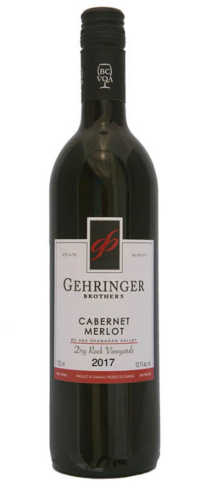 Gehringer Brothers Dry Rock Vineyards 2017 Cabernet Merlot Bottle