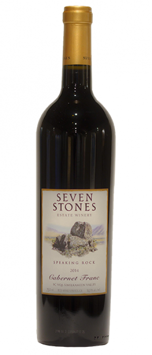 Seven Stones Winery 2014 Cabernet Franc | Red Wine