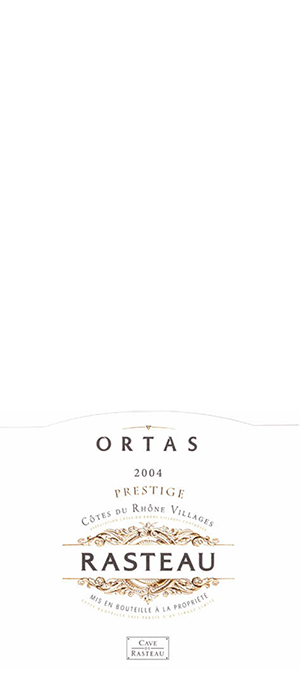 Ortas Red Rhône / GSM Bottle