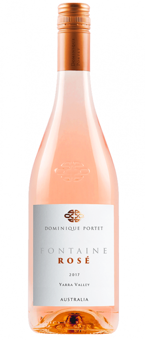 Dominique Portet 2017 Fontaine Rosé | Rosé Wine