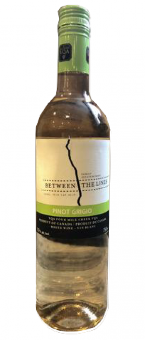 Between The Lines Winery 2017 Pinot Gris (Grigio) | White Wine