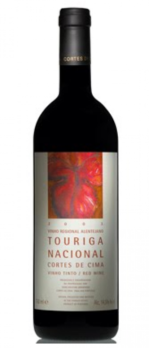 Cortes de Cima  2012 Touriga Nacional Bottle