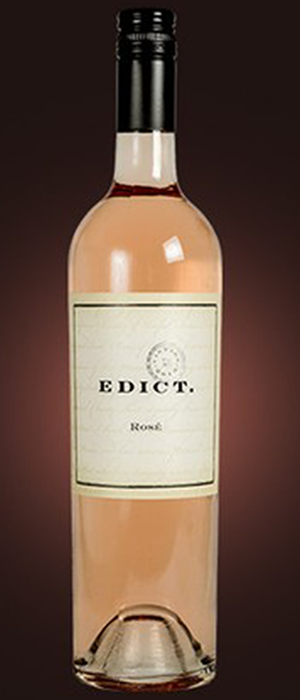 Edict 2013 Syrah (Shiraz) Bottle