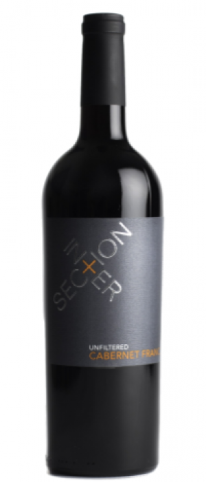 Intersection Estate Winery 2015 Cabernet Franc Bottle