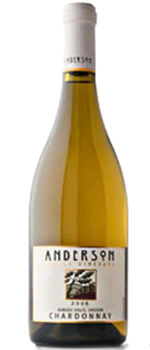 Anderson Winery & Vineyard 2009 Chardonnay Bottle