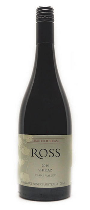 Ross Estate 2010 Syrah (Shiraz) Bottle
