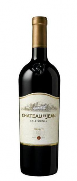 Chateau St Jean 2011 Merlot Bottle