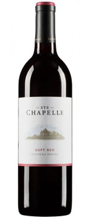 Ste. Chapelle Chateau Series Soft Red Bottle
