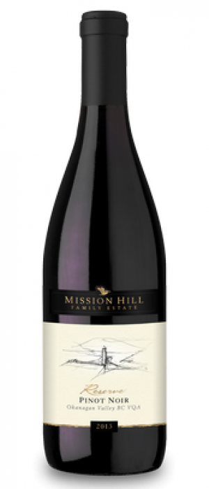 Mission Hills Family Estate 2016 Reserve Pinot Noir Bottle