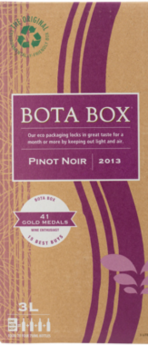 Bota Box Pinot Noir Bottle