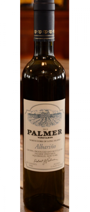 Palmer Vineyards 2013 Albariño Bottle