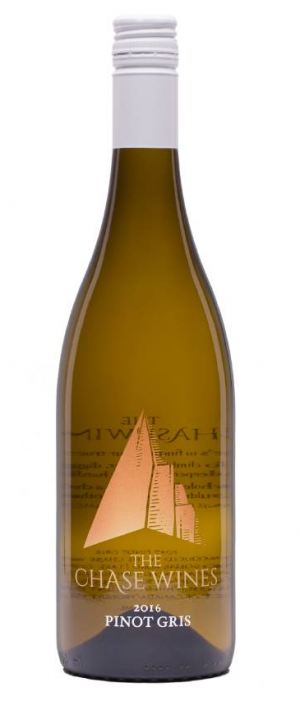 The Chase Wines 2016 Pinot Gris (Grigio) Bottle
