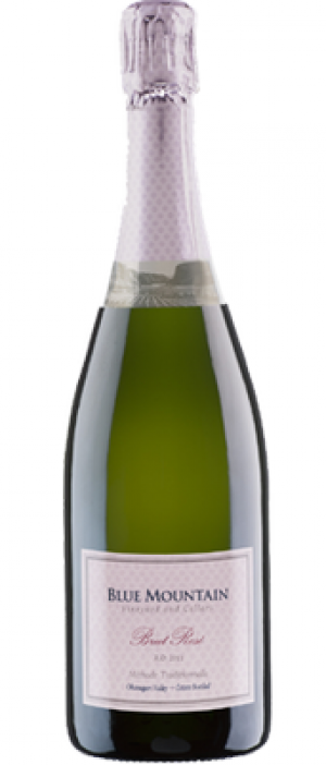 Blue Mountain Vineyard and Cellars 2013 Brut Rose Bottle