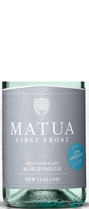 First Frost Sauvignon Blanc Marborough Bottle