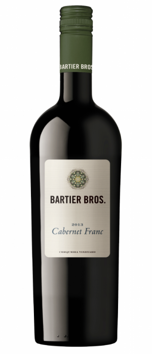 Bartier Bros. Cerqueira Vineyard 2013 Cabernet Franc Bottle